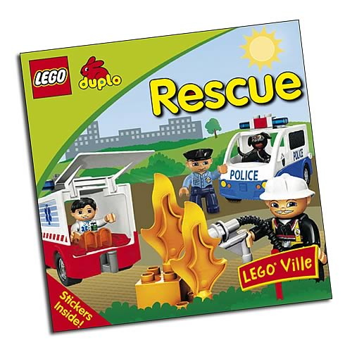 LEGO DUPLO Rescue Story Paperback Book
