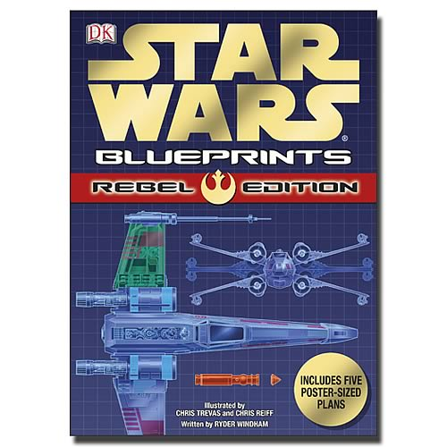 Star Wars Blueprints: Rebel Edition Book