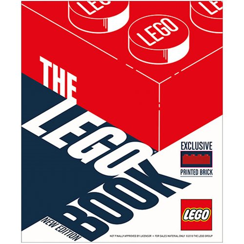 The LEGO Book New Edition Hardcover Book