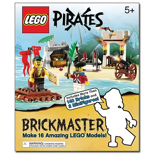 LEGO Brickmaster Pirates Book and Toy Set