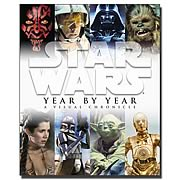 Star Wars Year by Year: A Visual Chronicle Hardcover Book