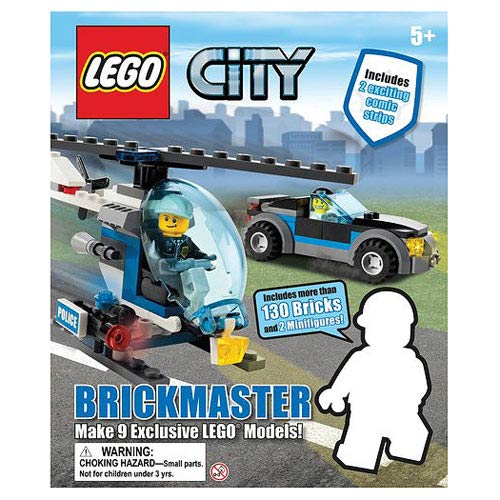 LEGO City Brickmaster Book and Toy Set