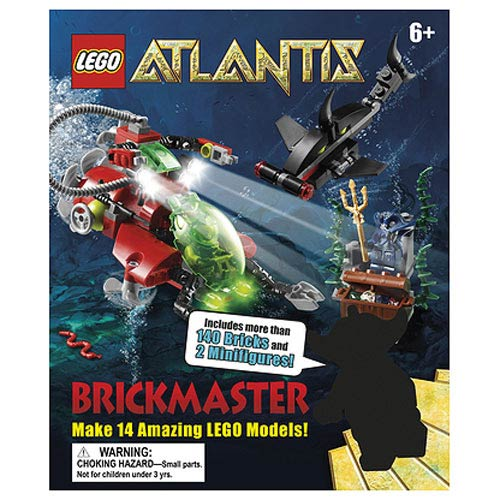 LEGO Brickmaster Atlantis Book and Toy Set