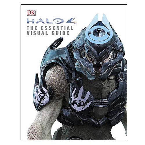Halo 4 The Essential Visual Guide Hardcover Book