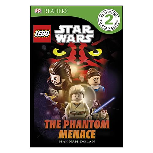 LEGO Star Wars Episode I Phantom Menace Hardcover Book