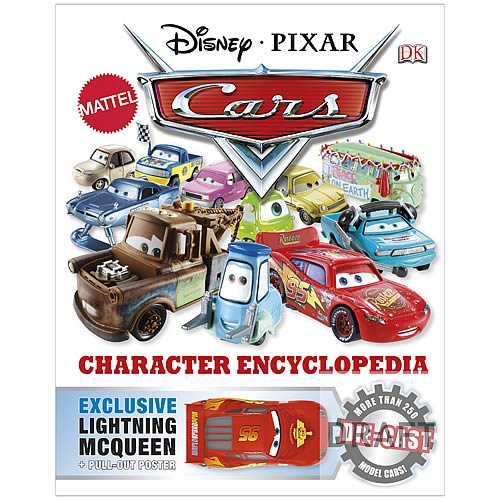 Disney Pixar Cars Character Encyclopedia Hardcover Book