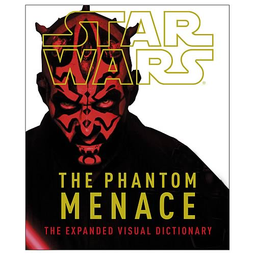 Star Wars Episode I Phantom Menace Visual Dictionary Book