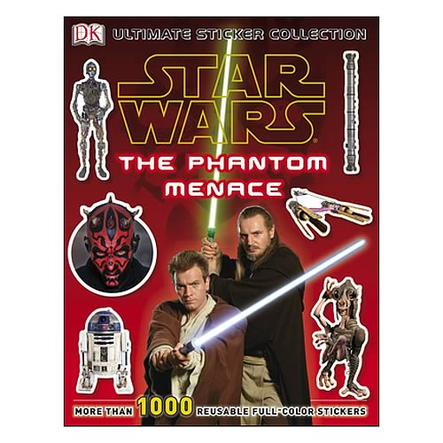 Star Wars Phantom Menace Ultimate Sticker Collection Book