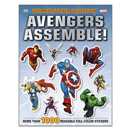 Marvel Avengers Assemble Ultimate Sticker Collection Book