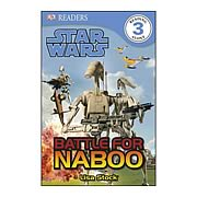 Star Wars Battle For Naboo Hardcover Book