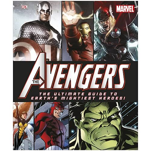 Marvel Avengers Ultimate Guide Hardcover Book