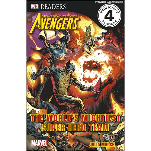 Marvel Avengers Super Team Hardcover Book