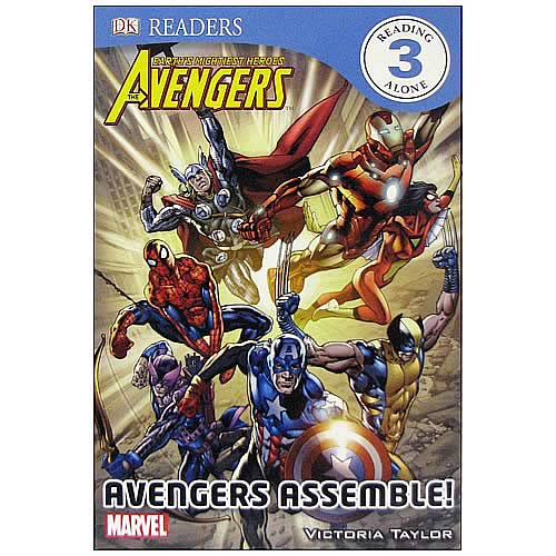 Marvel Avengers Assemble Hardcover Book