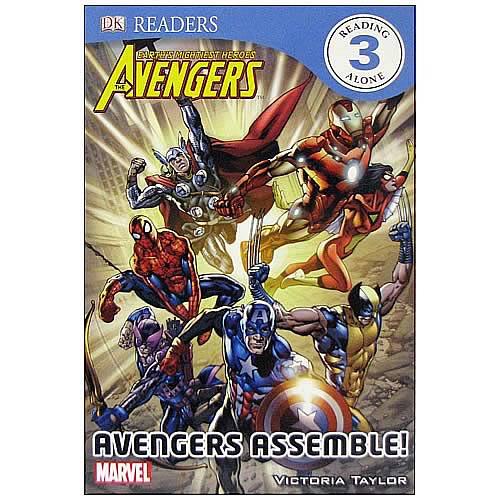 Marvel Avengers Assemble Hardcover Book