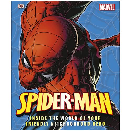 Marvel Spider-Man Ultimate Guide Hardcover Book