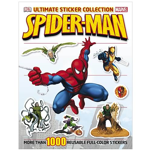 Marvel Spider-Man Ultimate Sticker Collection Paperback Book