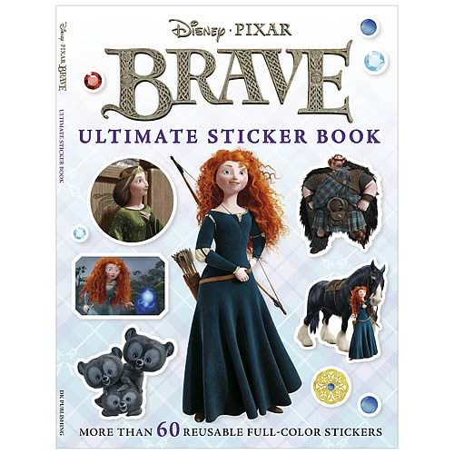 Disney Pixar Brave Ultimate Sticker Paperback Book