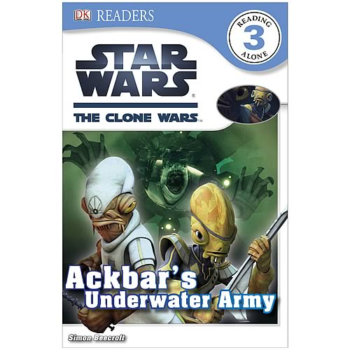 Star Wars Clone Wars Ackbar Underwater Army Hardcover Book