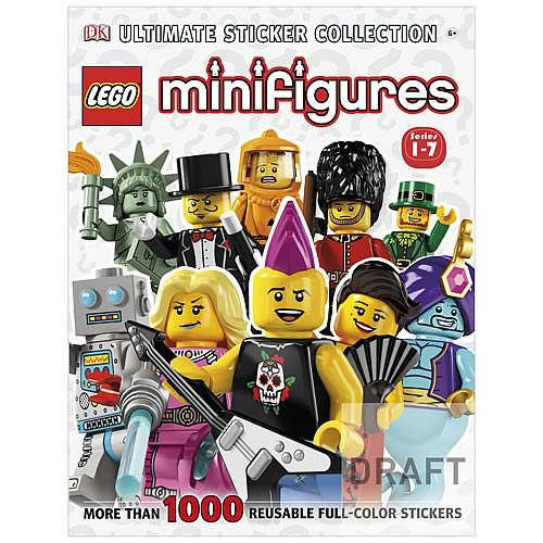 LEGO Minifigures Ultimate Sticker Collection Paperback Book