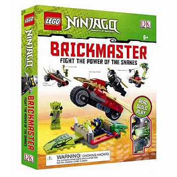 LEGO Brickmaster Ninjago Fight Power of Snakes Hardcover