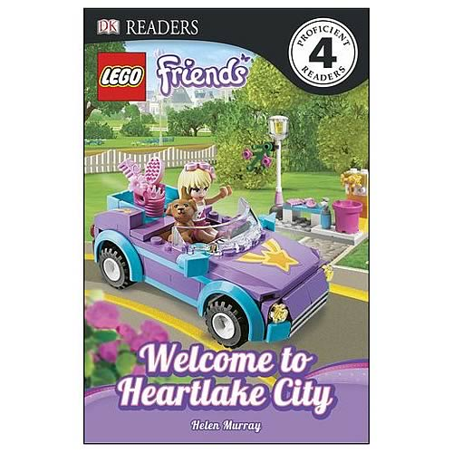 LEGO Friends Hanging Out In Heartlake City Hardcover Book