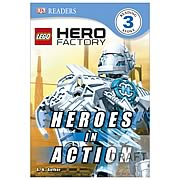 LEGO Hero Factory Heroes in Action Hardcover Book