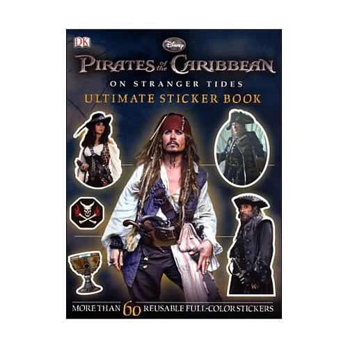 POTC On Stranger Tides Ultimate Sticker Book