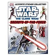 Star Wars Clone Wars Secrets of the Force Sticker Collection