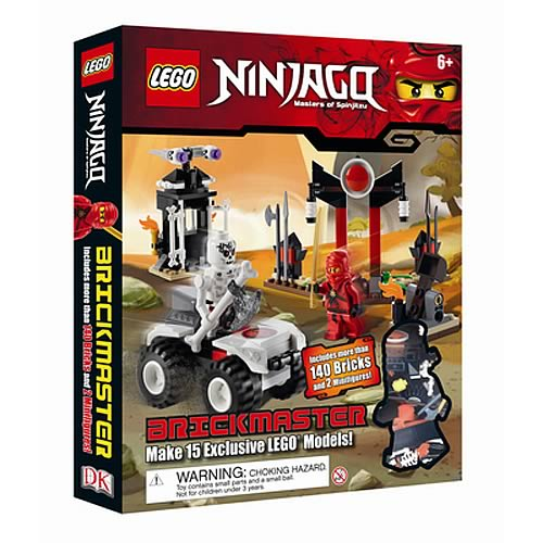 LEGO Brickmaster Ninjago Book and Toy Set