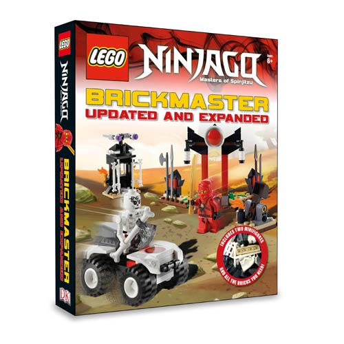 LEGO Ninjago Brickmaster Expanded Book and Toy Set