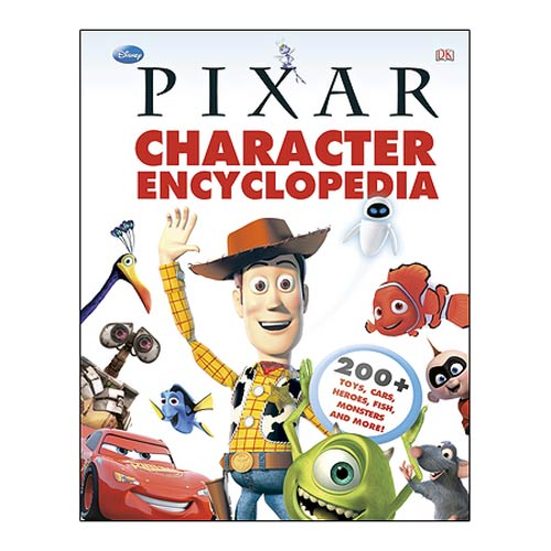 Disney Pixar Character Encyclopedia Hardcover Book
