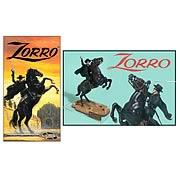 Zorro on Horse Model Kit