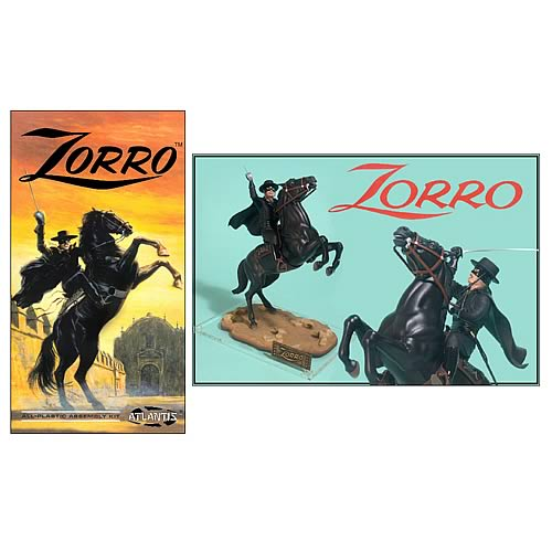 Zorro on Horse Model Kit