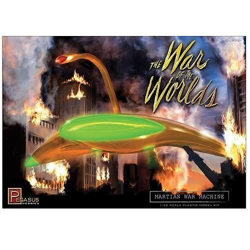 War of the Worlds Martian War Machine Model Kit