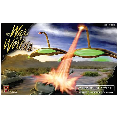 War of the Worlds War Machines Attack! Diorama Model Kit