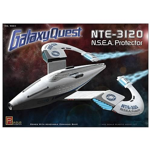 Galaxy Quest Ship Designs: Galaxy Quest NSEA Protector Ship Model Kit
