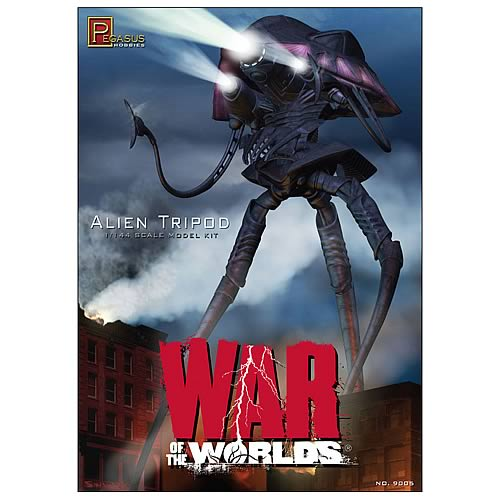 War of the Worlds 2005 Alien Tripod Model Kit