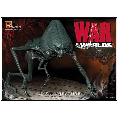 War of the Worlds 2005 Alien Creature Model Kit