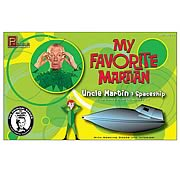 My Favorite Martian Uncle Martin and Spaceship Model Kit