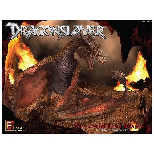 Dragonslayer Vermithrax Pejorative Dragon Model Kit