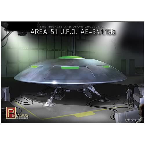 Area 51 UFO AE-341.15B Model Kit