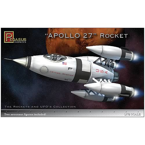 Apollo 27 Space Rocket Model Kit