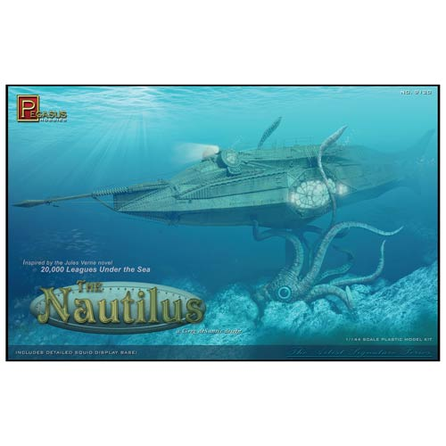 20,000 Leagues Under the Sea Nautilus Submarine Model Kit