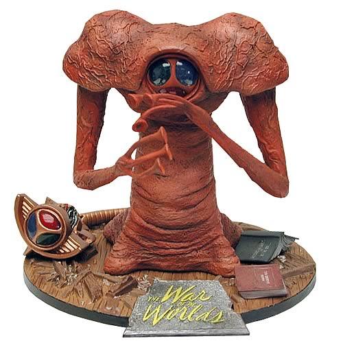 War of the Worlds Martian Figure Preassembled Model Kit