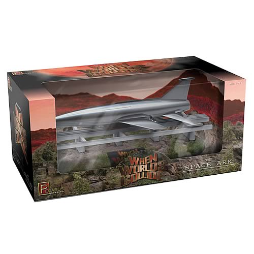 When Worlds Collide Space Ark Preassembled Model Kit