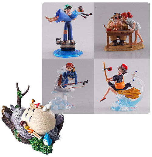 Studio Ghibli Diorama Collection Volume 1 Statue PIECE