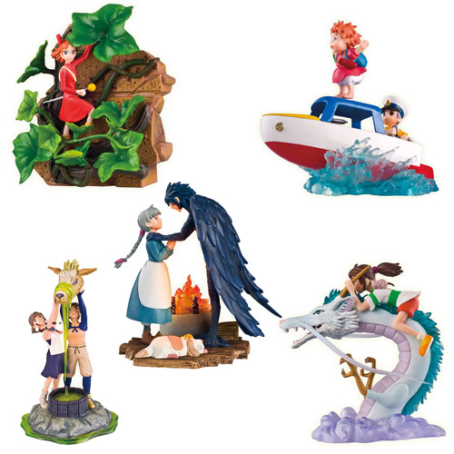 Studio Ghibli Diorama Collection Volume 2 Statue Set