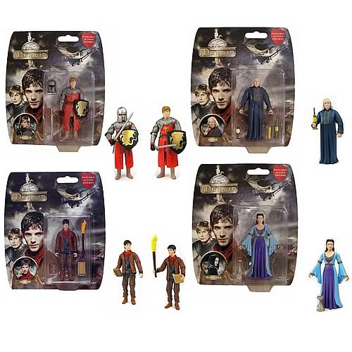 Adventures of Merlin Action Figure Set