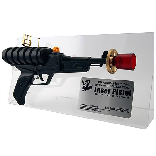 Lost in Space Bill Mumy Signed Laser Pistol Prop Replica
