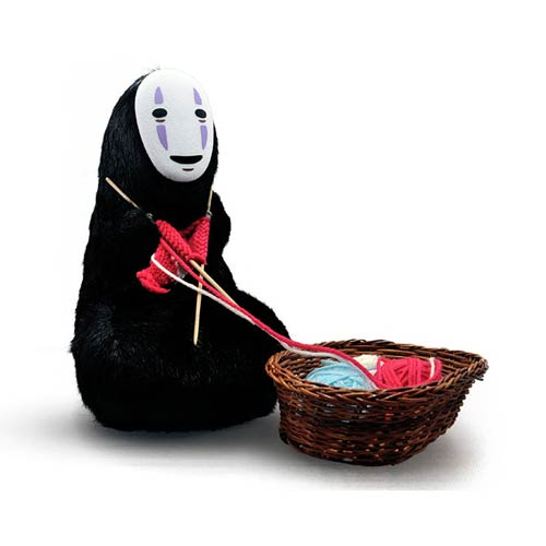 Spirited Away Kaonashi No-Face 11-Inch Plush